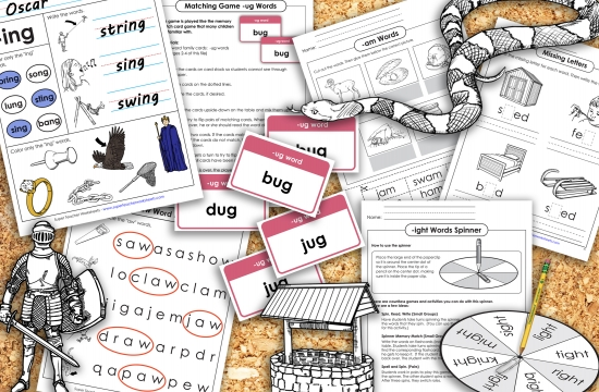 Word Family Resources