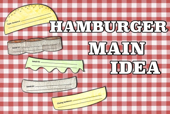 Hamburger Main Idea Organizer
