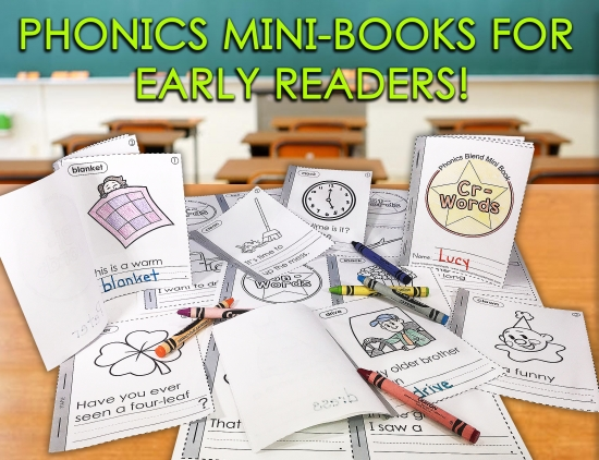 Mini-Books For Early Readers