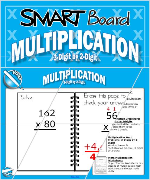 Multiplication SMART Board Activity