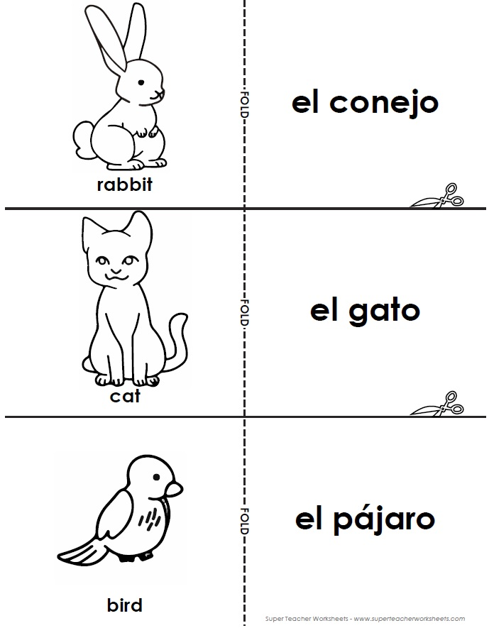 ... . Visit our Spanish Worksheets page to view the entire collection