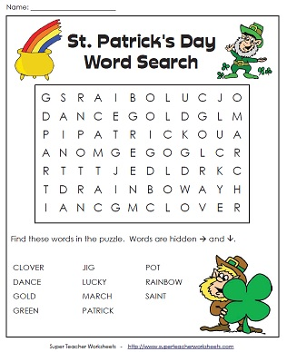 A Puzzle for St. Paddy's Day
