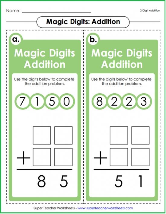 Magic Digits Math Games