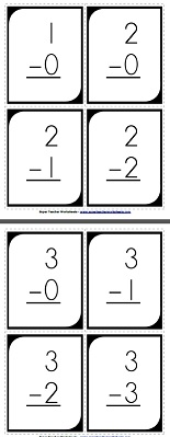 math worksheet : subtraction flash cards : Super Teacher Worksheets Subtraction