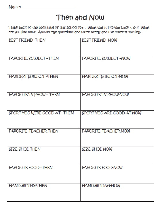 photo regarding End Year Printable Activities identify An Stop of the Higher education Calendar year Worksheet