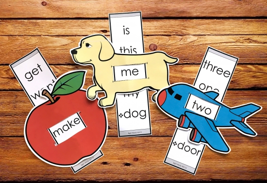 Sight Word Sliders