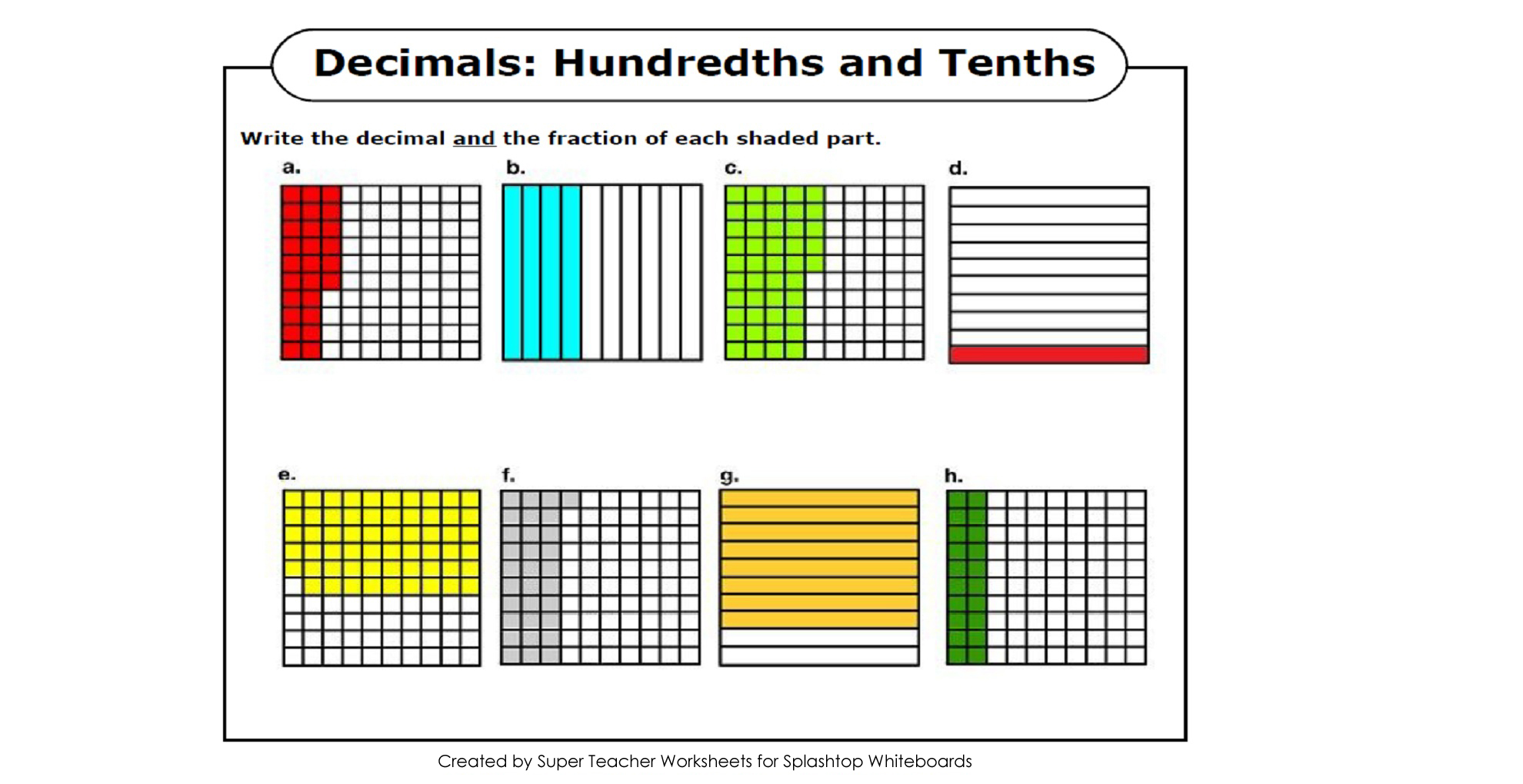 math worksheet : splashtop whiteboard background graphics : Decimal Tenths Worksheet