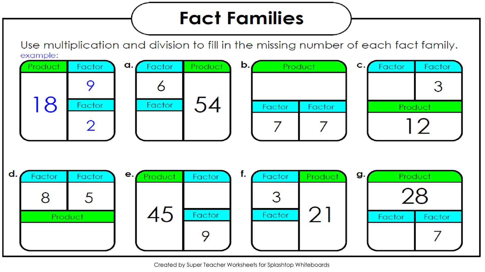 Decimal Math Worksheets – Multiplication and Division Practice Worksheets