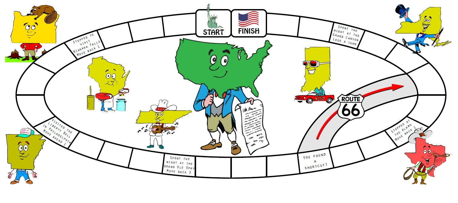 Uncategorized State Worksheets 50 states board game for this and many other games activities please visit our worksheets page weve got bingo i havewho has