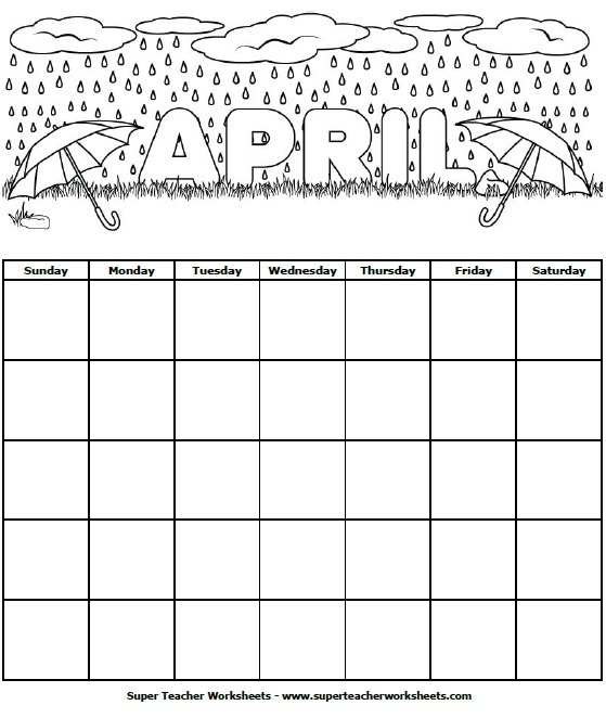 June Calendar Numbers For Preschool : Calendar worksheets for kindergarten time and