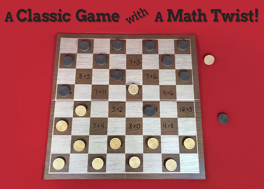 Math Checkers Activity