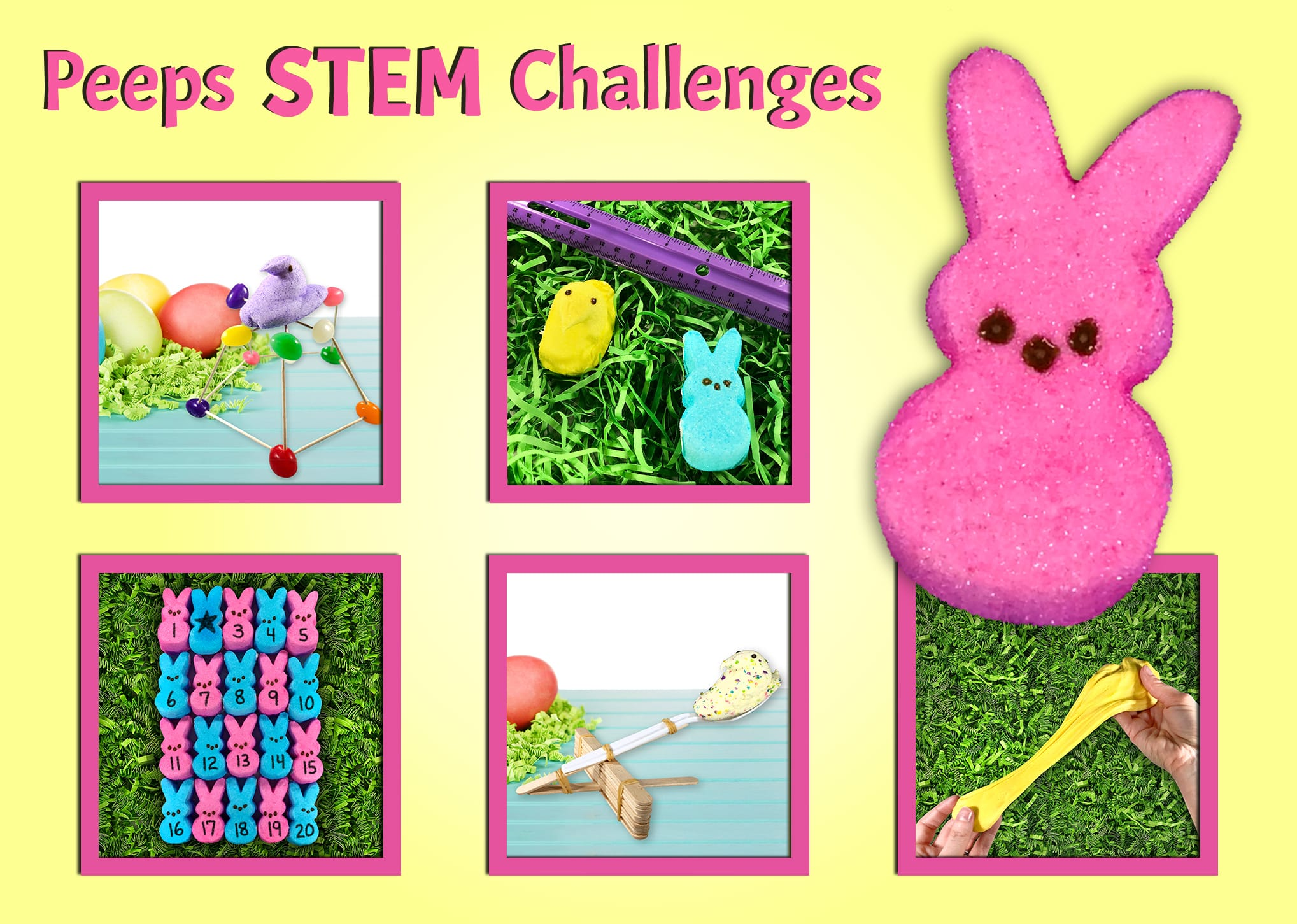 STEM Activities with Marshmallow Peeps