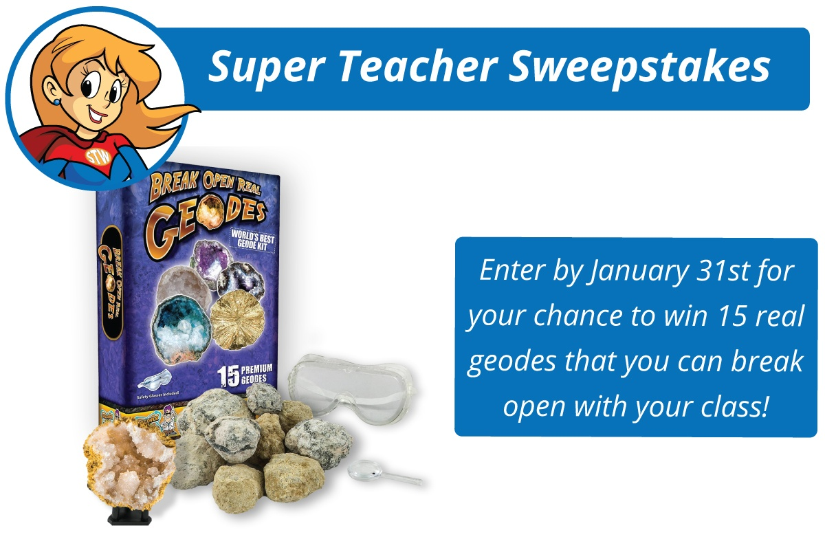 Super Teacher Monthly Contest