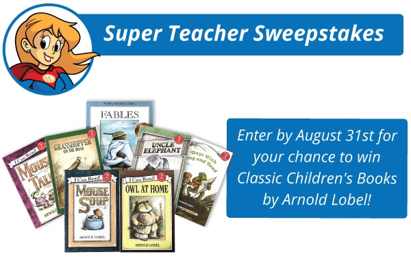 Super Teacher Giveaway