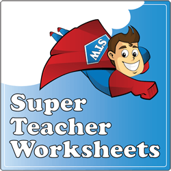 Super Teacher Worksheets Square Logo