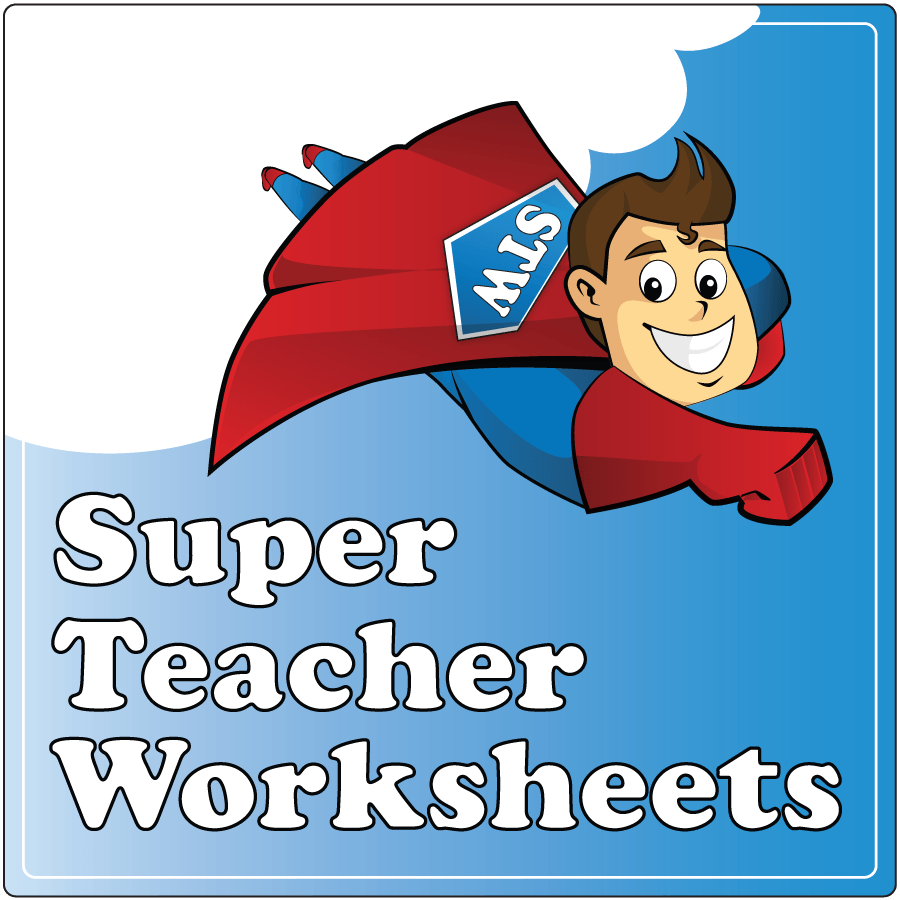 worksheet Superteacher Worksheets image gallery super teacher worksheets square logo