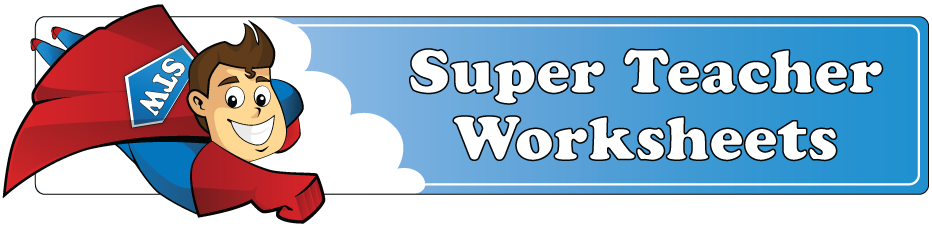 Super Teacher Worksheets | Signup