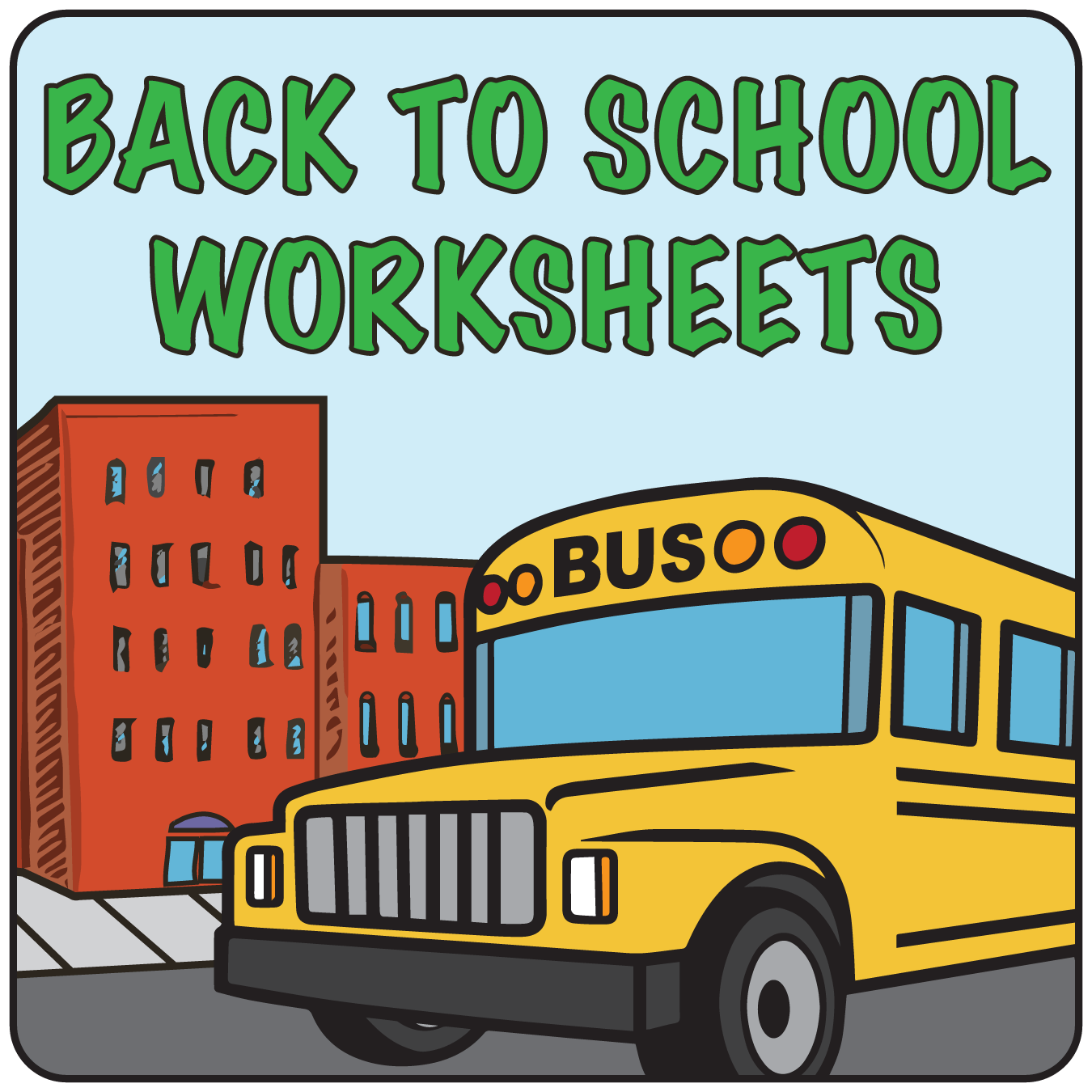Back-to-School Worksheets