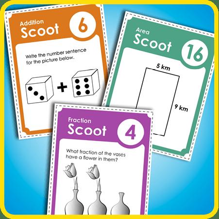 Scoot! Classroom Games