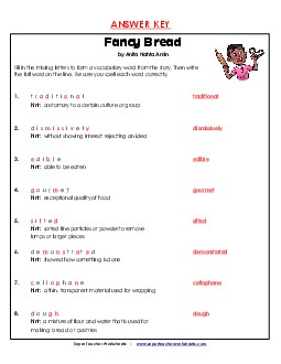 Answers To Super Teacher Worksheets