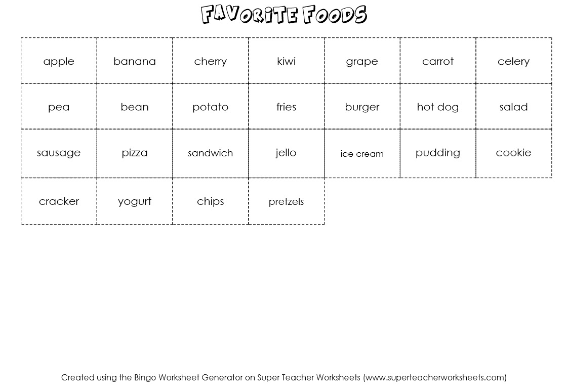 worksheet Bingo Worksheet bingo game worksheet generator board creator