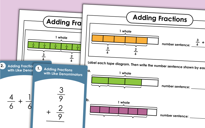Adding Fractions Mixed Numbers Worksheets