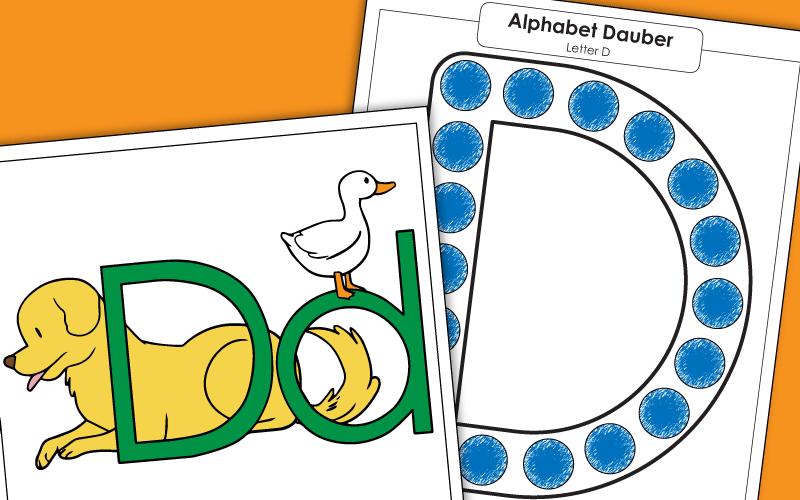 39+ Letter D Worksheets For Kindergarten Pictures