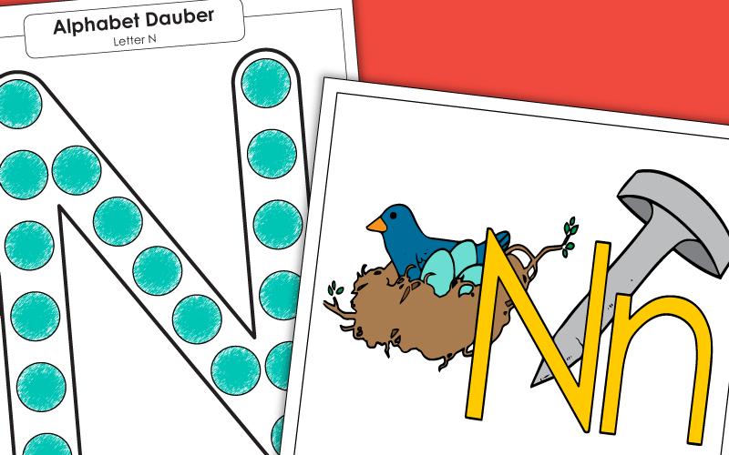 Letter N Worksheets Recognize Trace Print - 39+ Printable Letter N Worksheets For Kindergarten PNG