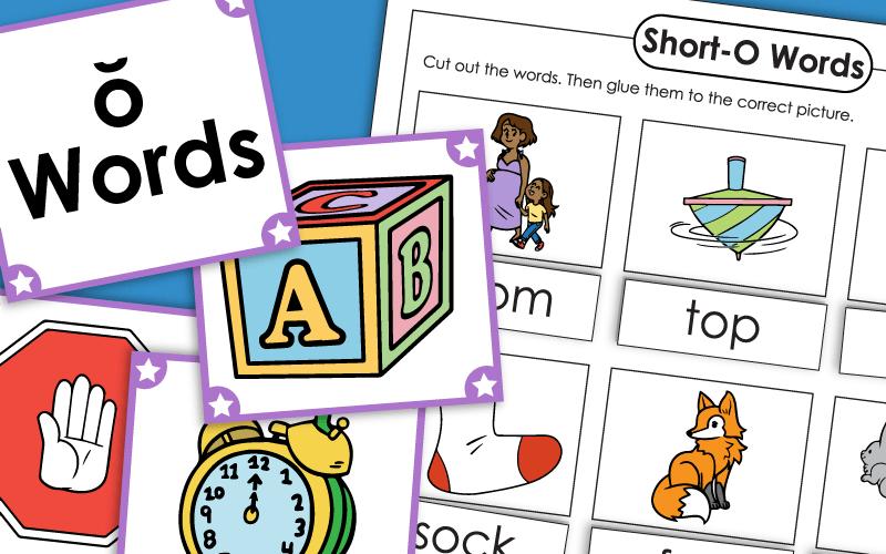 Short O Phonics Worksheets - View Short Vowel Letter O Worksheets For Kindergarten Pics