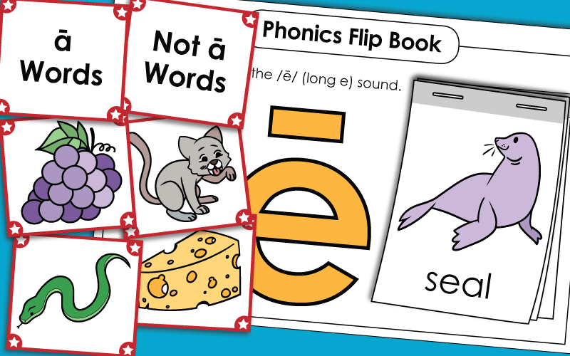 Phonics - Vowel Sounds Worksheets
