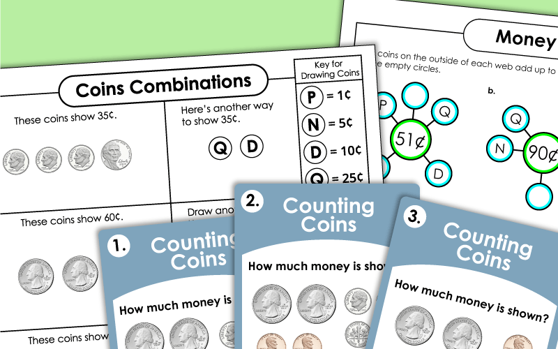 money counting money advanced Worksheets