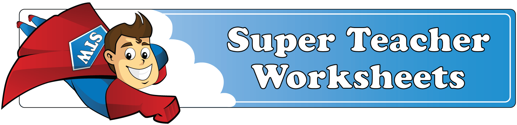 Log In to Super Teacher Worksheets – Super Math Worksheets