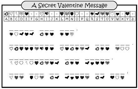 graphic relating to Valentine Crossword Puzzles Printable named Working day child printable puzzle valentine Trials Eire