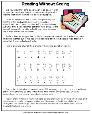 5th Grade English Worksheets With Answers: Reading Comprehension   5th Grade Worksheets,