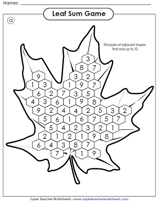fall worksheet - Fall Worksheets For First Grade