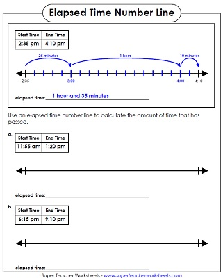 elapsed time word problem worksheet - Elapsed Time Worksheet