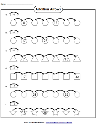 Frames and Arrows Worksheets