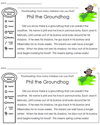 It&#39s Groundhog Day! 16 Free Teacher Ideas - Teach Junkie