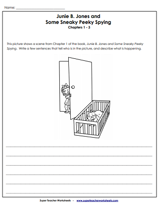 Literacy Unit Worksheets (Junie B. Jones)