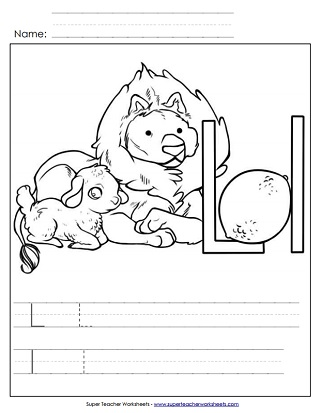 Letter L Worksheets - Recognize, Trace, & Print