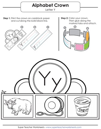 picture about Printable Letter Y named Letter Y Worksheets - Fully grasp, Hint, Print