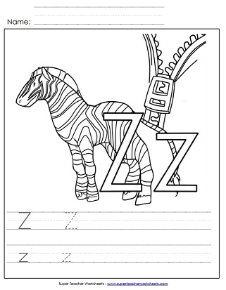 Alphabet Writing Worksheets (Printable)