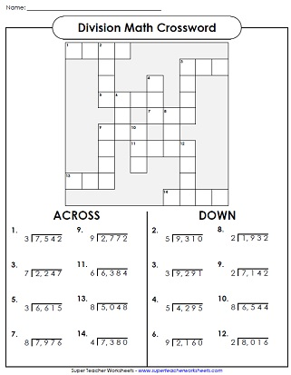 Proatmealus  Unusual Long Division Worksheets With Inspiring Division Worksheets With Delightful Free Math Puzzles Worksheets Also Earth Worksheets For Kindergarten In Addition Money Skills Worksheets Free And Anti Bullying Worksheets Ks As Well As Fifth Grade Ela Worksheets Additionally Distributive Worksheets From Superteacherworksheetscom With Proatmealus  Inspiring Long Division Worksheets With Delightful Division Worksheets And Unusual Free Math Puzzles Worksheets Also Earth Worksheets For Kindergarten In Addition Money Skills Worksheets Free From Superteacherworksheetscom