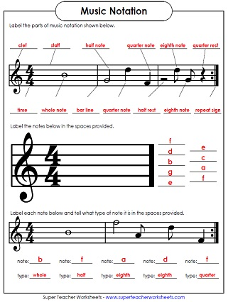 math worksheet : music worksheets : Kindergarten Music Worksheets