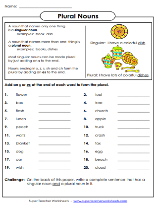 photo relating to Printable Noun Worksheets referred to as Noun Worksheets