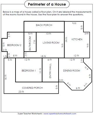 grade 5 area and perimeter worksheets - Thousands of Worksheet ...