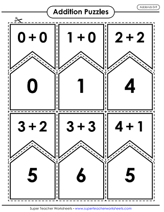 Addition Math Puzzles