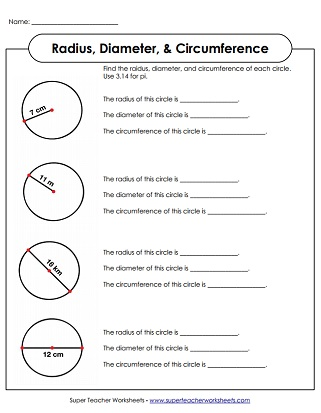 Money Shopping Worksheets Pdf Radius  Diameter Worksheets Circumference  Area Worksheets Preterite Spanish Worksheet with Free Printable French Worksheets Excel Circle Worksheets Radius And Diameter Radius And Diameter Printables Short I Word Family Worksheets Pdf
