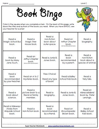 Worksheets Teaching A Child To Read Worksheets reading worksheets game book bingo