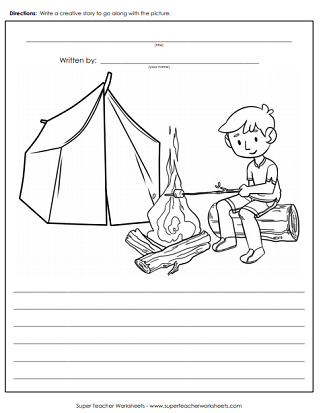 creative writing worksheets for primary school